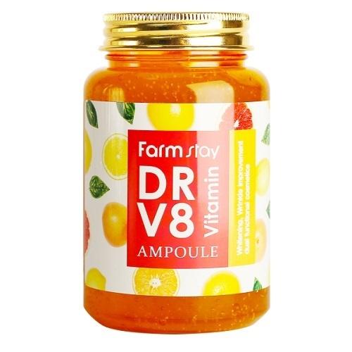 Сыворотка ампульная с витаминами FarmStay DR-V8 Vitamin Ampoule 250мл