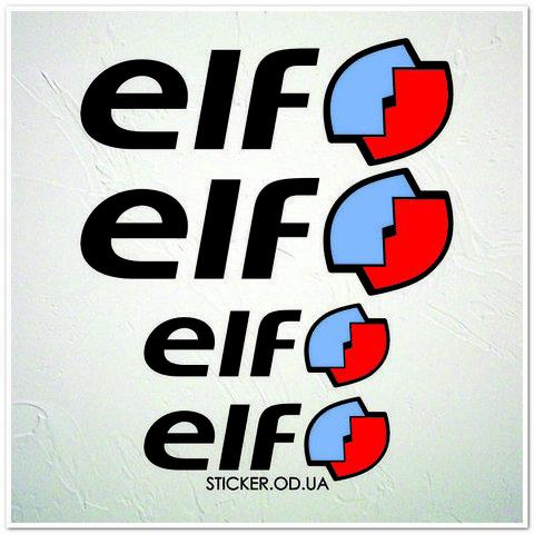 Набор наклеек, логотип