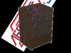 ПР-32-60 Н Прилавок торговый остекленный