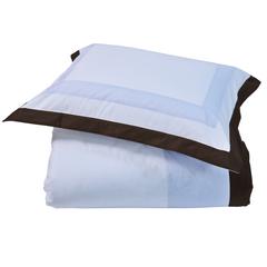 Постельное белье 2 спальное евро макси Casual Avenue Soho Frame голубое