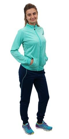 ASICS TRACKSUIT POLYWARP женский спортивный костюм бирюзовый