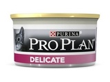Purina Pro Plan Cat Adult Консервы для кошек Паштет с Индейкой 1х85 г