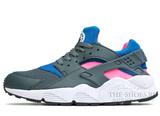 Кроссовки Женские Nike Air Huarache Grey Blue Pink
