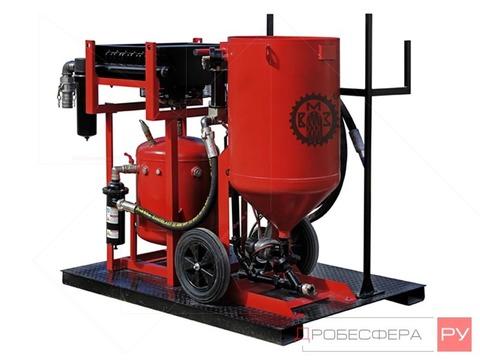 Комплект пескоструйного оборудования для установки в автомобиль DSG®-200