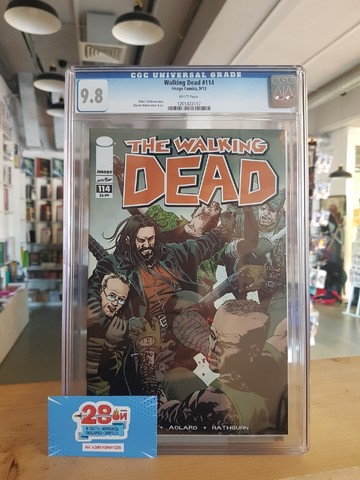 The Walking Dead #114 CGC 9.8