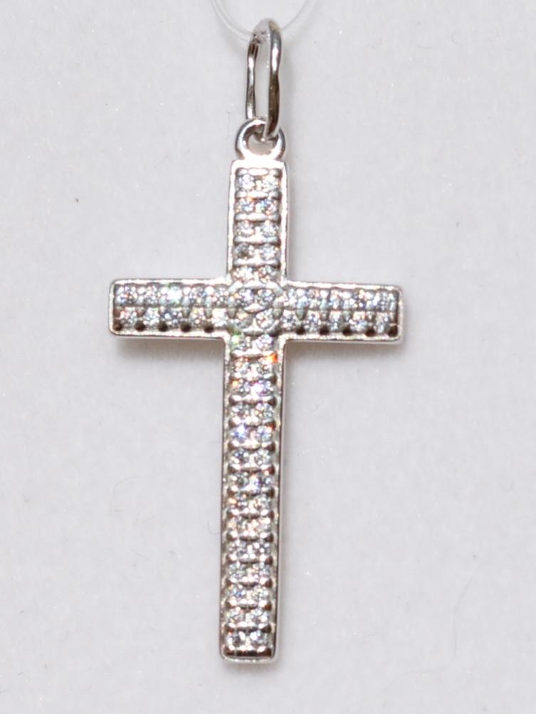 Крест 30202 (кулон  из серебра).