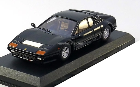 Ferrari 512 BB 1976 black Best 1:43