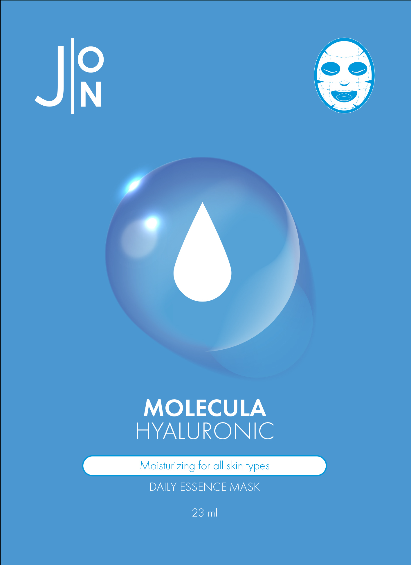 Тканевая маска с гиалуроновой кислотой J:ON Hyaluronic Acid Daily Mask Sheet