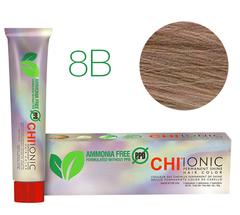 8B CHI Ionic (Средне бежевый-блондин) - стойкая БЕЗАММИАЧНАЯ краска для волос 90мл