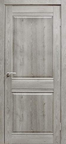 Дверь Эколайт Дорс Омега, цвет дуб дымчатый, глухая