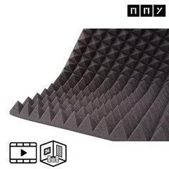 Акустический поролон ППУ Пирамида 100