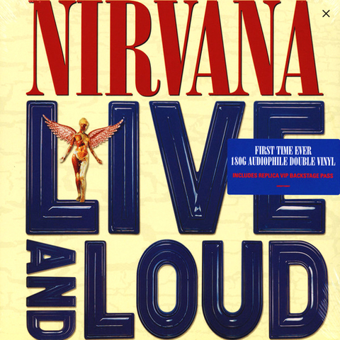 Nirvana ‎/ Live And Loud (2LP)