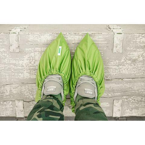 Многоразовые бахилы ZEERO Dewspo, зеленые