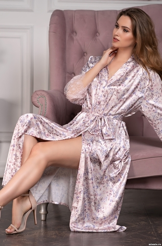 Длинный женский халат MIA-Amore VLADLENA  Владлена 3599