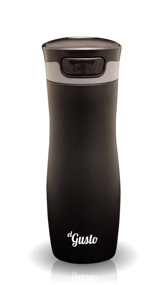 Термокружка El Gusto Berry (0,47 литра) черная