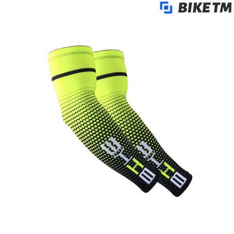 Компрессионные рукава BIKE TM Yellow/Black