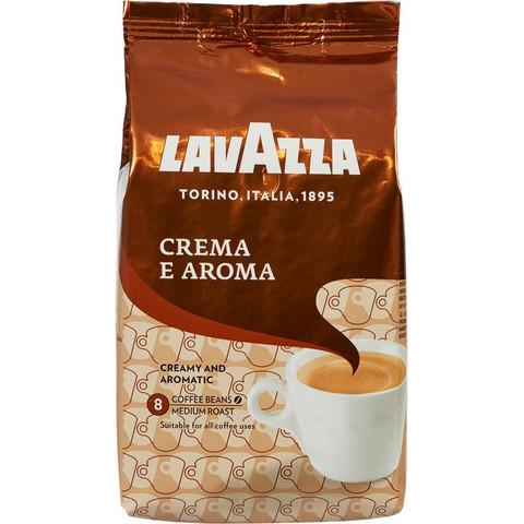 Кофе Lavazza Crema e Aroma в зернах, 1кг