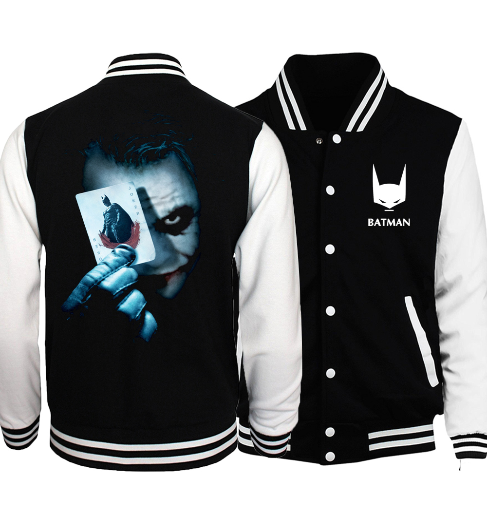 Куртка бейсбольная Бэтмен Темный рыцарь — Baseball Jacket Batman Dark Knight