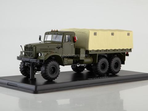 KRAZ-255B1 flatbed truck khaki-beige 1:43 Start Scale Models (SSM)