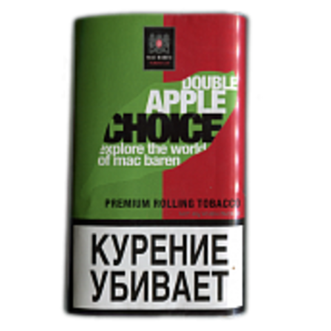 Табак M.B.сигарет. DOUBLE APPLE CHOICE (p40gr)