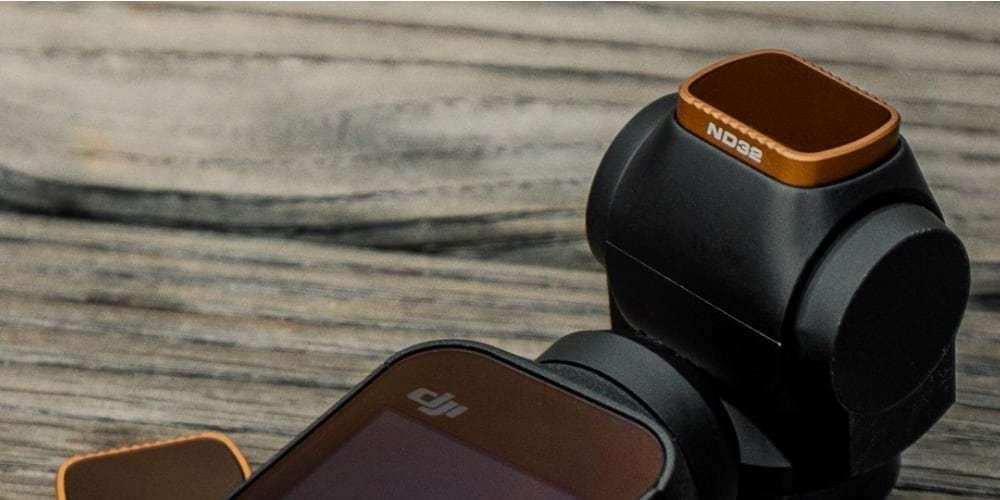 Набор фильтров PolarPro SHUTTER для DJI Osmo Pocket на стабилизаторе
