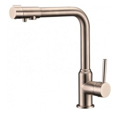 Смеситель для кухни под фильтр Kaiser (Кайзер) Teka 13044-5 ф35 NICKEL