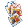 Слюнявчик махровый Teddy Kids голубой от Feiler
