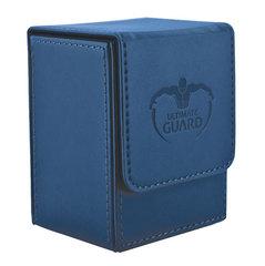 Ultimate Guard - Темно-синяя кожаная коробочка на 100+ карт для Коммандера