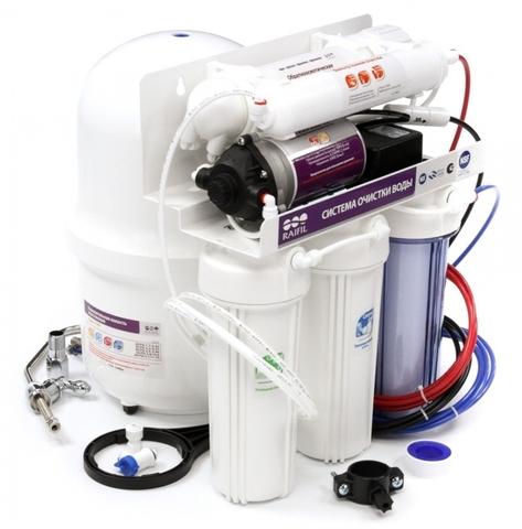 Водоочиститель RO 905-550BP-EZ (5-ти ступенчатая система с НПД) R
