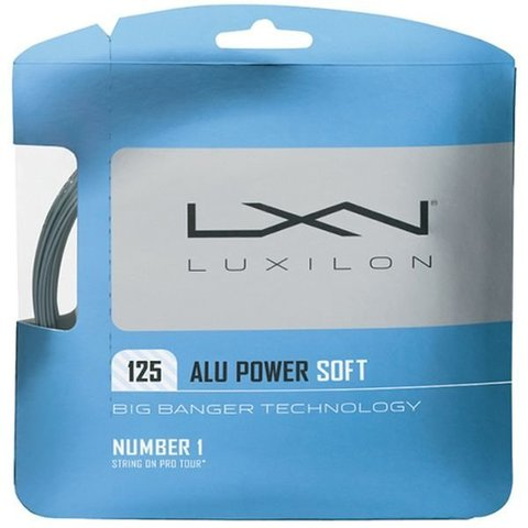 Струны теннисные Luxilon Big Banger Alu Power Soft 125 12.2M / WRZ990101