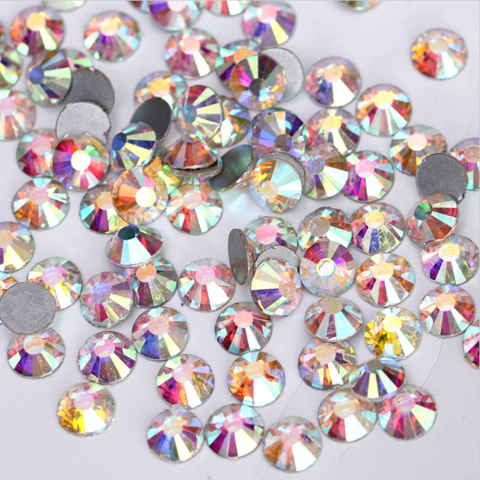 Стразы SS20 AB переливающийся кристалл 50 шт