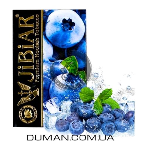 Табак JiBiAR Ice Blueberry (Джибиар Лед Черника) 50g
