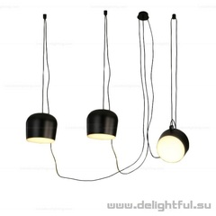 светильник  AIM by Flos 3 PCS ( BLACK )