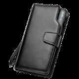 Мужской клатч-портмоне Baellerry Business (Чёрный)
