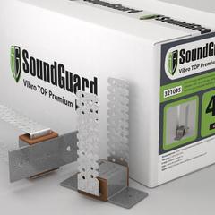Виброкрепление для металлического каркаса SoundGuard Vibro PREMIUM
