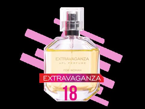 APL. Цветочный альдегидный женский аромат №18. 50 мл. Парфюмерная серия EXTRAVAGANZA