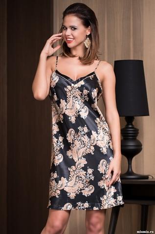 Сорочка женская шелковая Mia-Amore  Golden Flower 3301