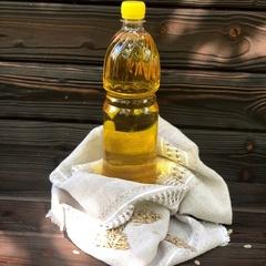 Масло подсолнечное ароматное нераф (Волгоград), 1 л.