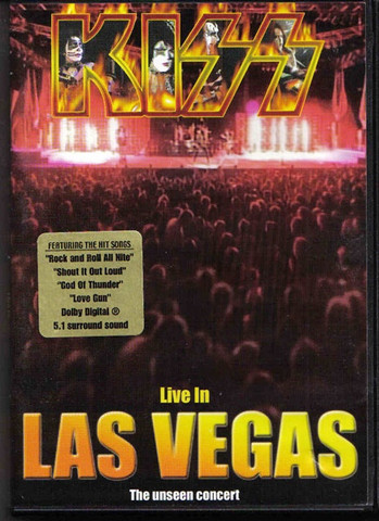 Kiss / Live In Las Vegas (DVD)
