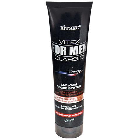 Витэкс Vitex for men CLASSIC Бальзам после бритья для сухой и чувствительной кожи 100 мл
