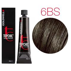 Goldwell Topchic 6BS (дымчатый светло-коричневый) - Cтойкая крем краска 60мл