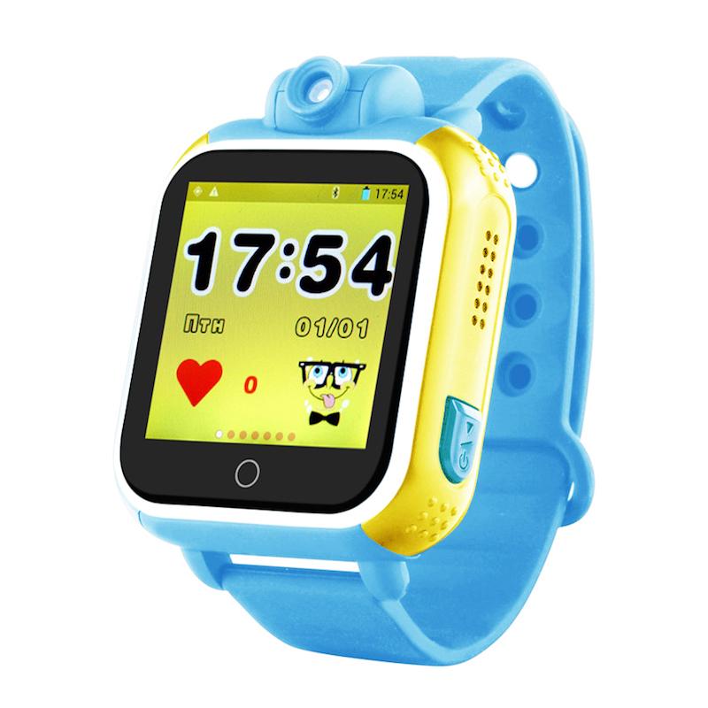 Голубой вариант цвета Smart Baby Watch Q100/GW1000