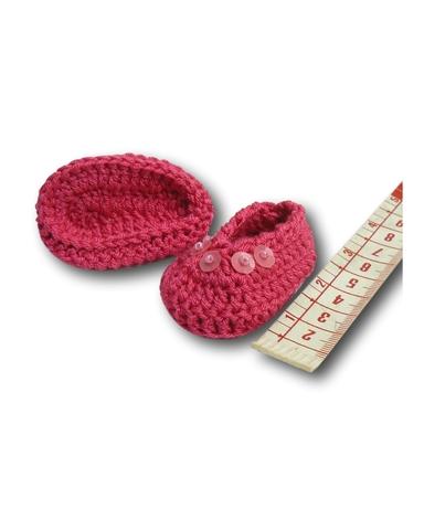 Вязаные туфли - Демонстрационный образец. Одежда для кукол, пупсов и мягких игрушек.