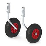 Комплект колес транцевых быстросъёмных для НЛ (260 мм)