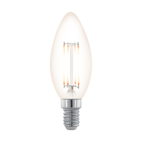 Лампа  LED филаментная диммир. Eglo NORTHERN LIGHTS LM-LED-E14 3,5W 390Lm 2200K C35 11708