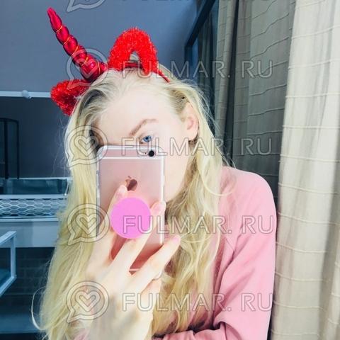 Ободок на голову Единорог с ушками блёстками Красный