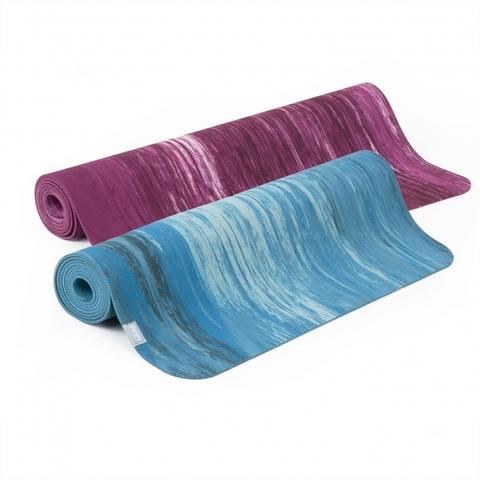 Каучуковый коврик для йоги Samurai Marbled 183*60*0,4см