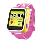 Детские часы с камерой GPS Smart Baby Watch Q100/GW1000 (Розовый)