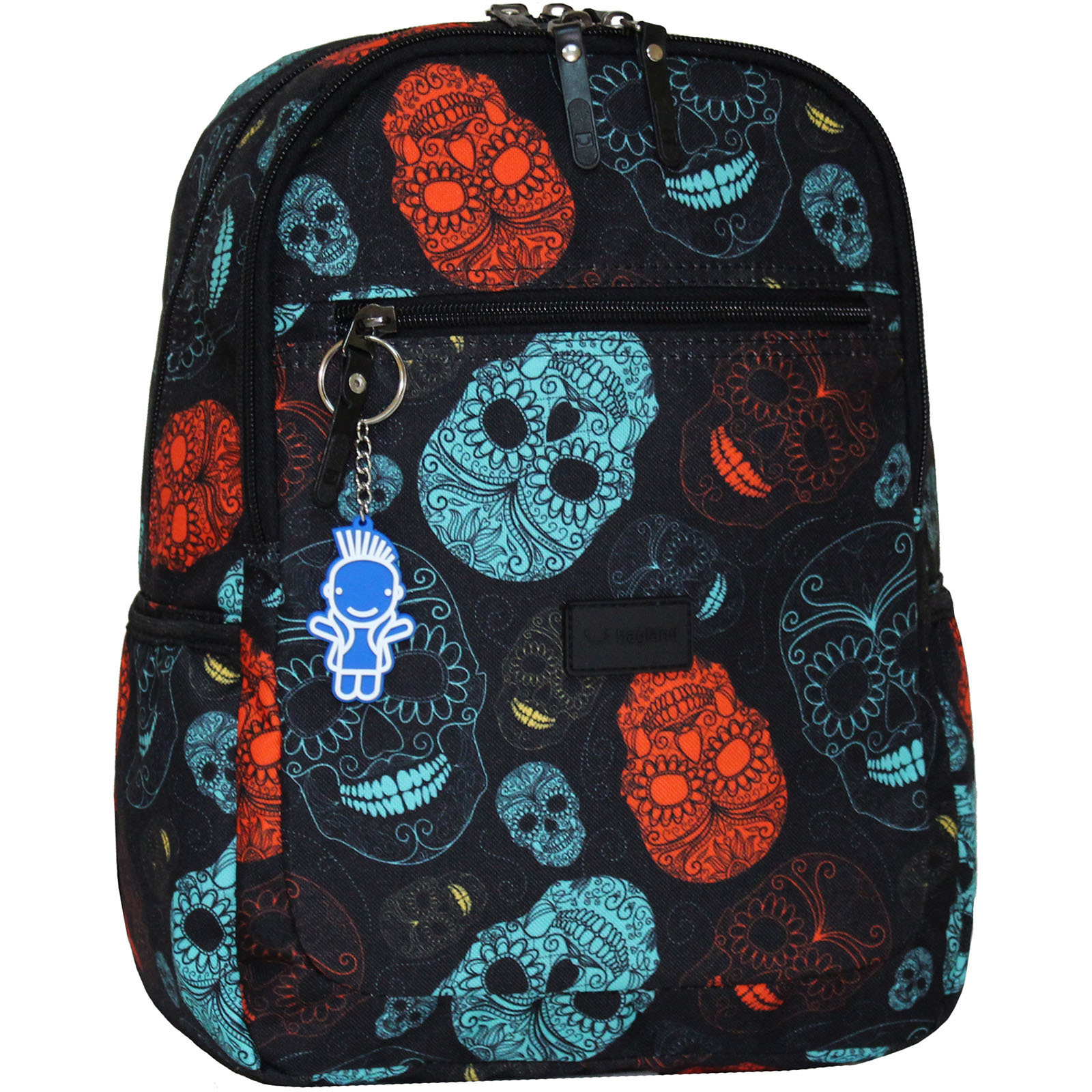Детские рюкзаки Рюкзак Bagland Young 13 л. сублимация (черепа) (00510664) IMG_8630_арт.106_.JPG