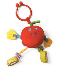 Развивающая игрушка Яблочко Энди (красное), серия